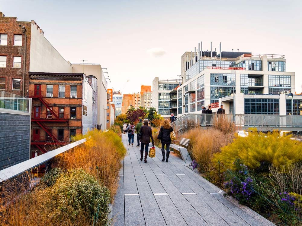 Highline in New York City