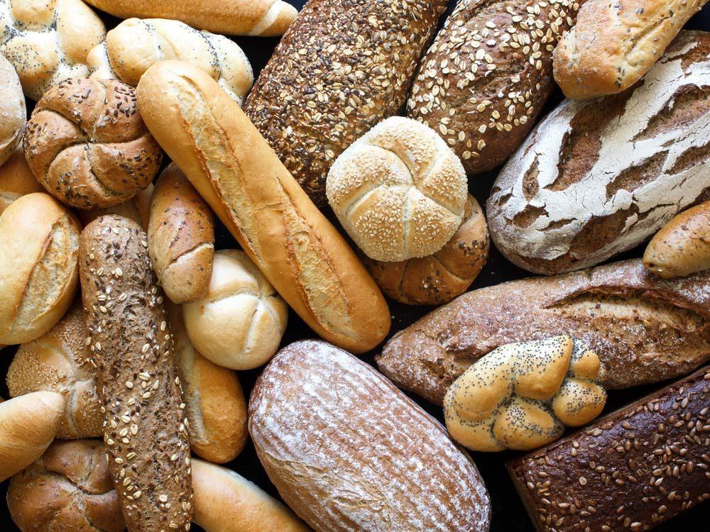 Gourmet bread variety