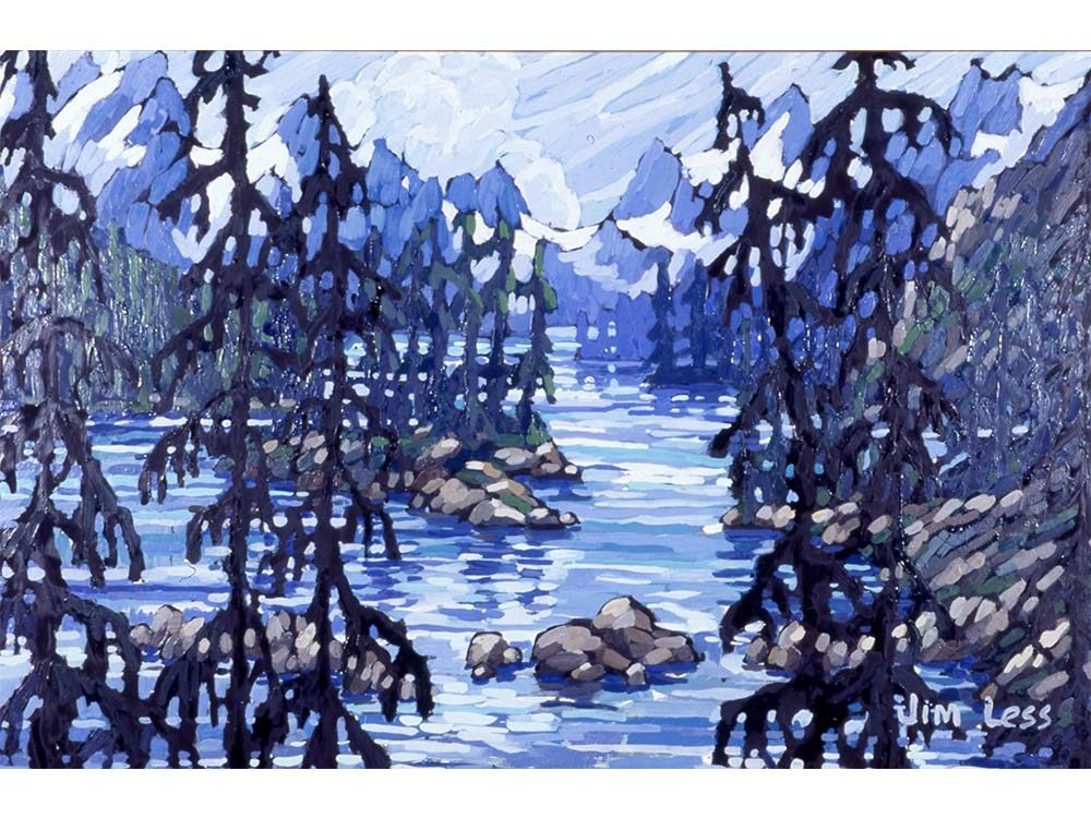 Maligne Lake is a popular destination in Jasper, Alberta