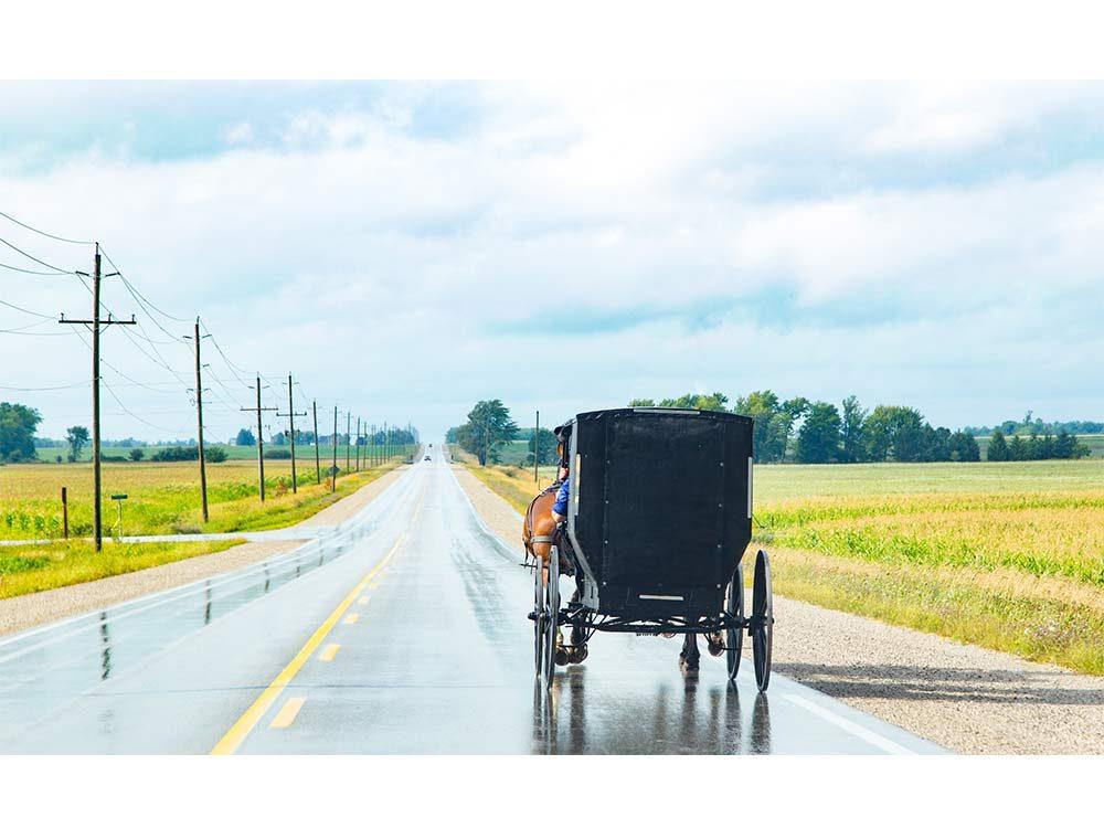 Old fashioned wagon