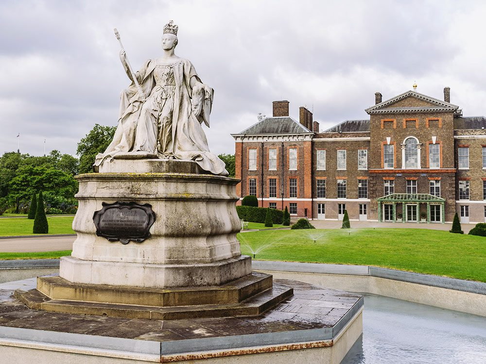 Queen Victoria grew up in Kensington Palace in London