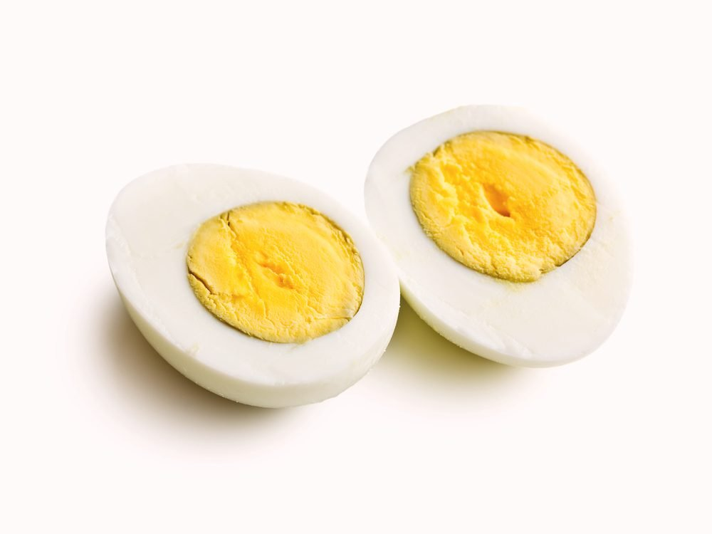 You should really never microwave hard boiled eggs
