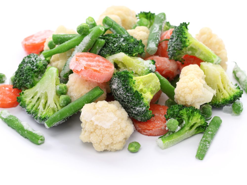 'Gourmet' frozen vegetables are foods you should never buy again