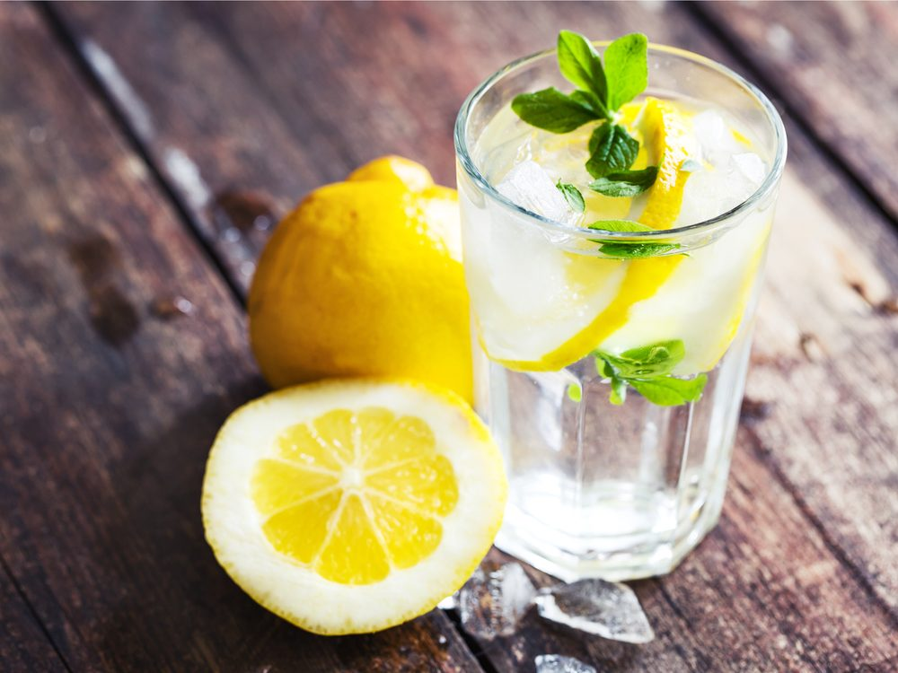 Lemon water is a surprising home remedy for constipation.