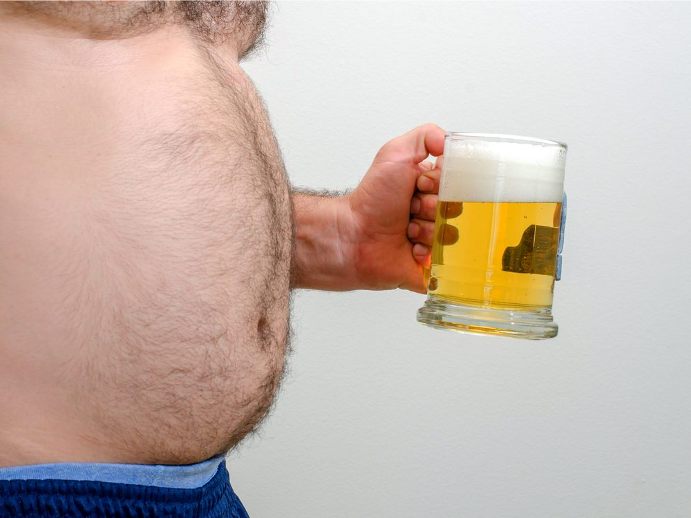 Not pumping iron could be the reason you get drunk so quickly