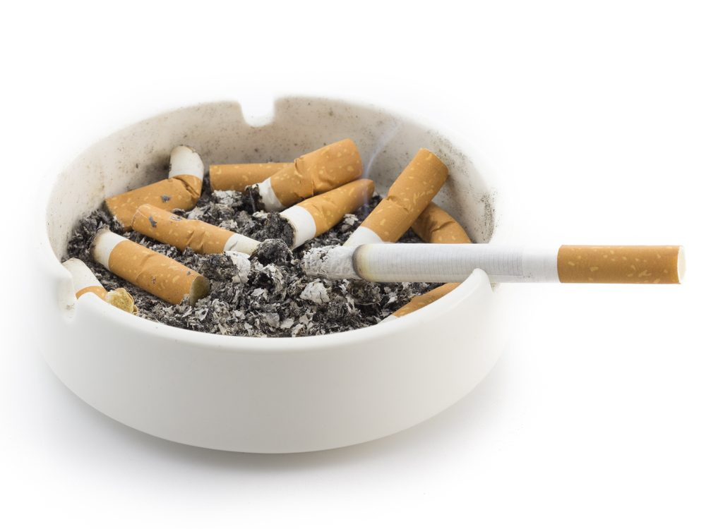 Smoking cigarettes is a bad habit you can quit