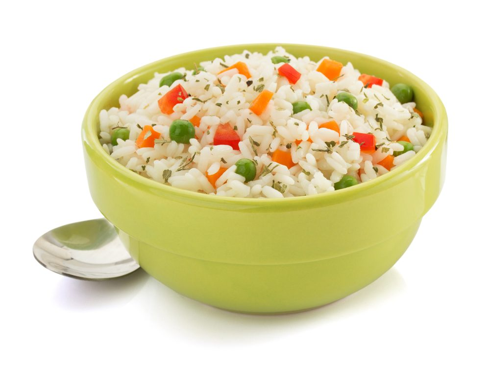 Boxed rice 'entree' or side-dish mixes are foods you should never buy again
