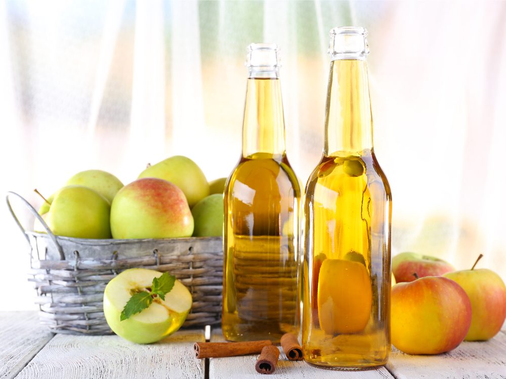 Apple cider vinegar can help with eczema and psoriasis