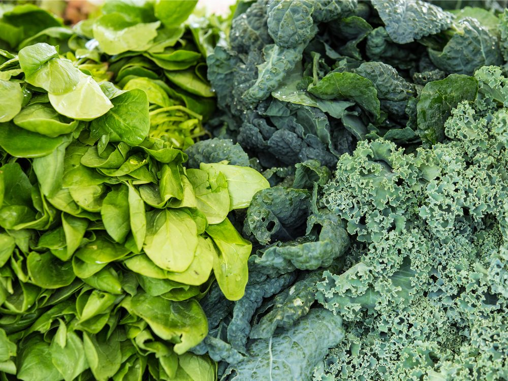 Leafy greens can help you avoid clogged arteries