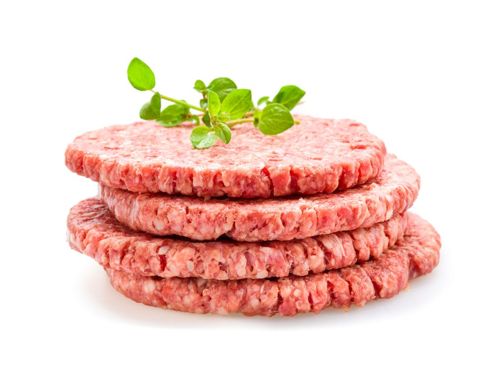Pre-formed meat patties is something you should never buy again