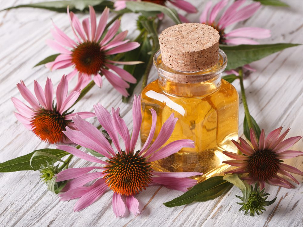 Echinacea is natural sore throat remedy.