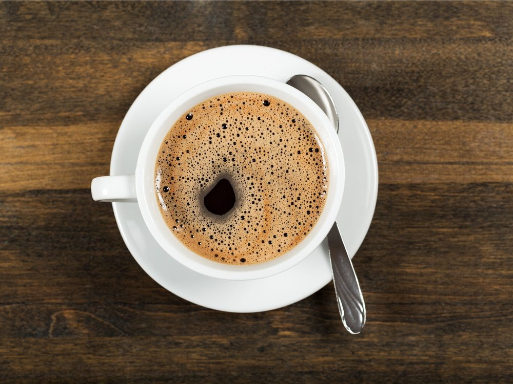 Coffee is a surprising home remedy for constipation.