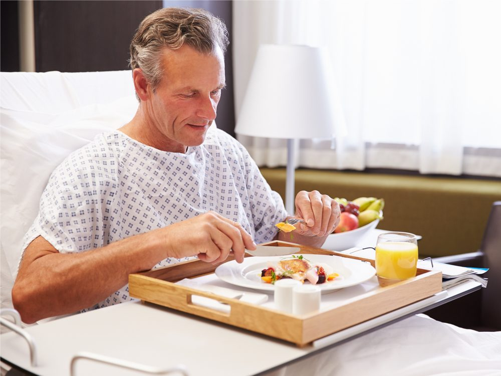 The fact that hospital food can make you sick is a hospital secret you should know