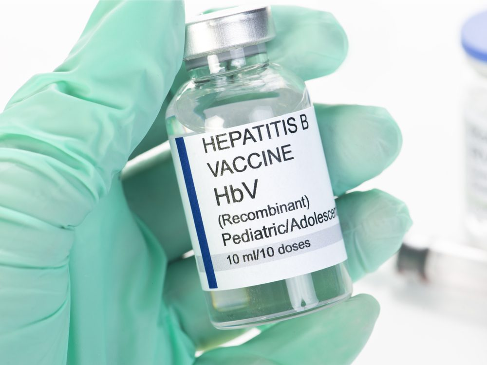 Having hepatitis B puts you at risk for liver cancer