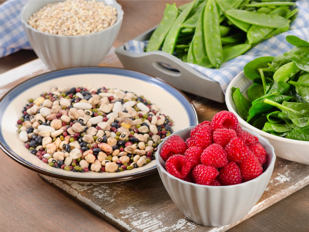 High-fibre foods are a surprising home remedy for constipation.