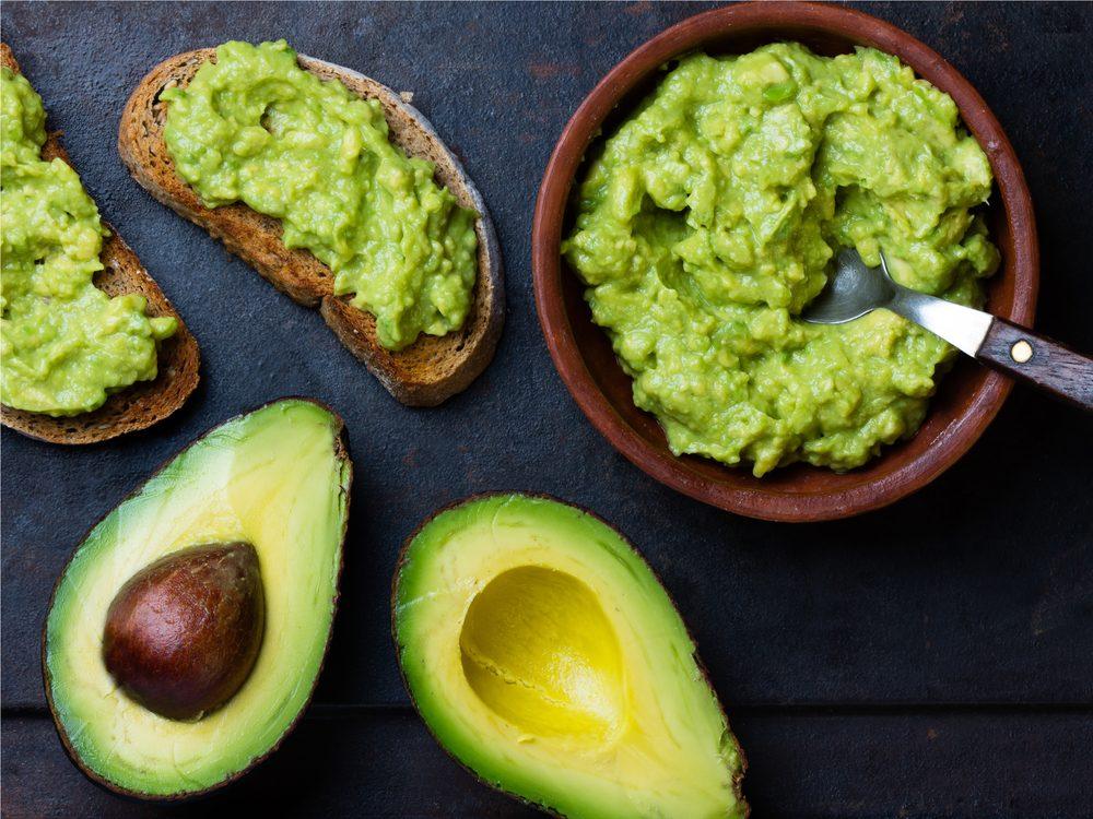 Avocado is a no-guilt healthy snack