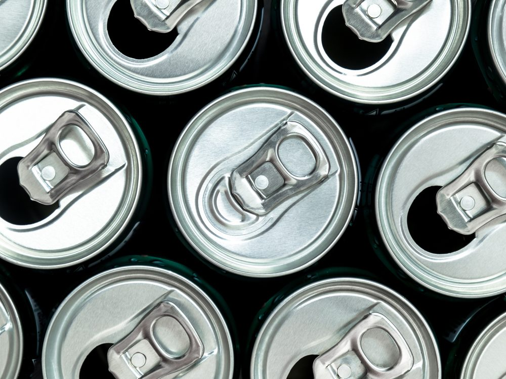 Energy drinks are something you should never buy again