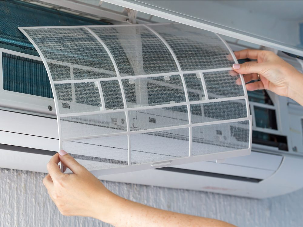 Making sure your appliances have HEPA filters could provide relief from allergies