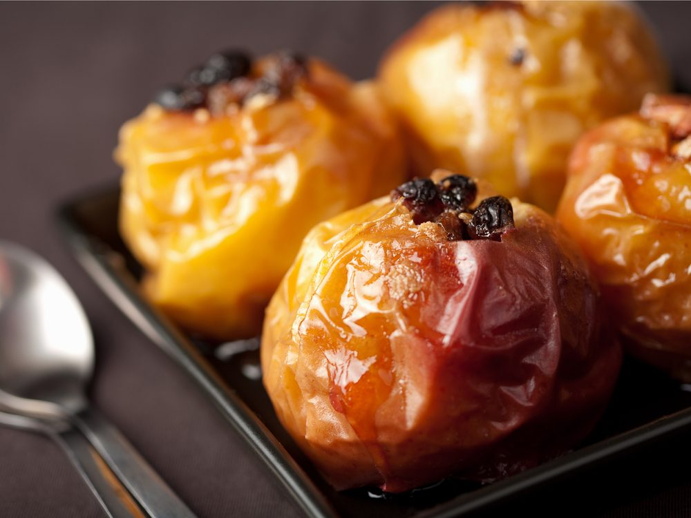 Baked apples are a no-guilt healthy snack