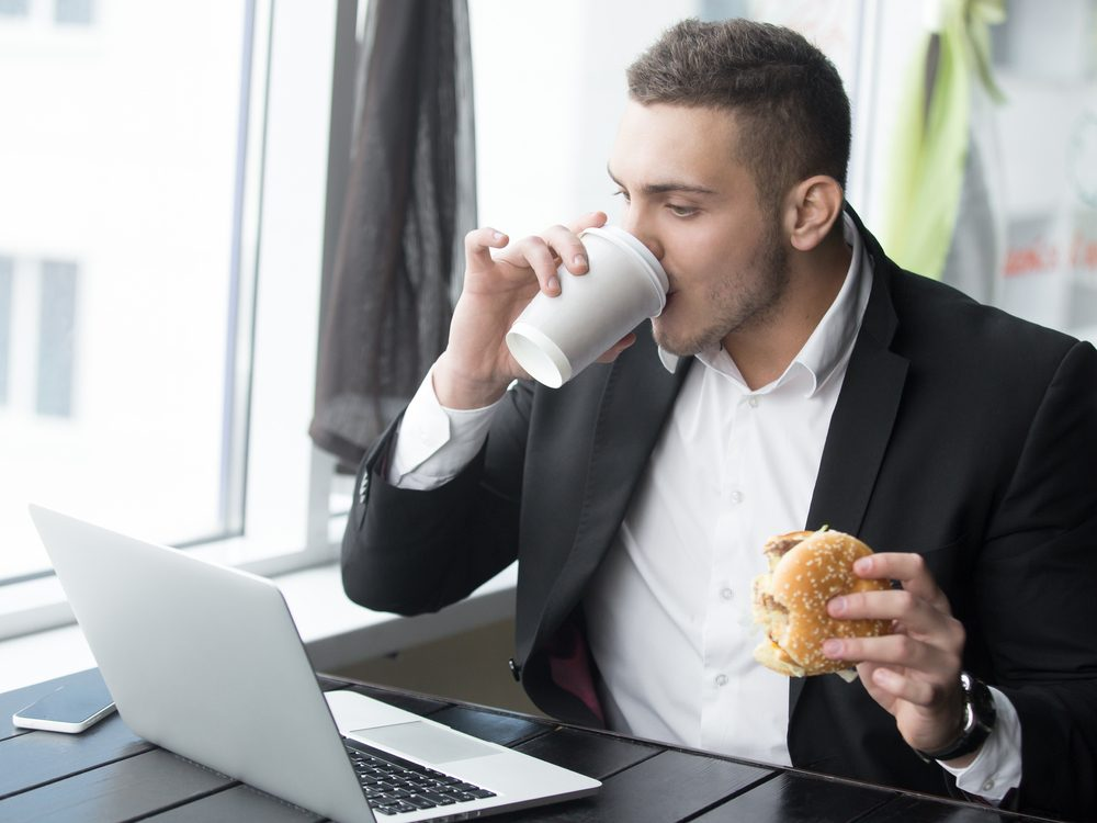 Eating fast food is a bad habit you can quit
