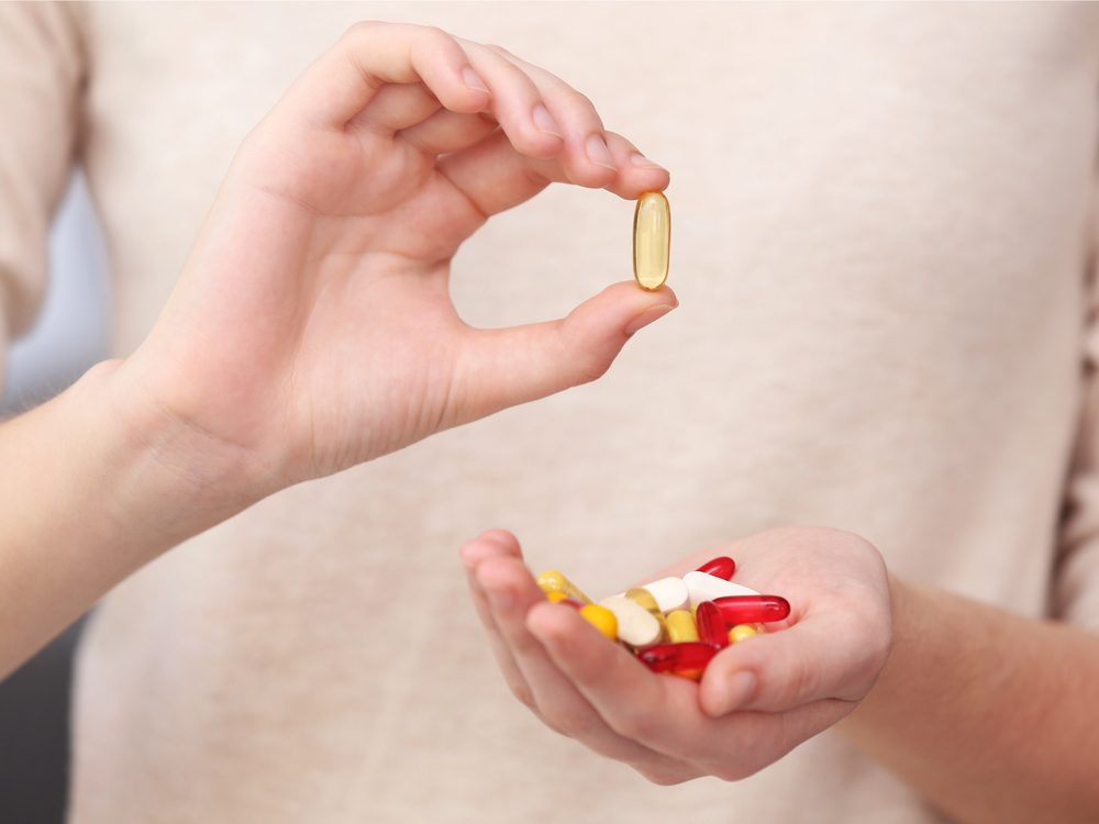 Vitamins are a natural canker sore home remedy