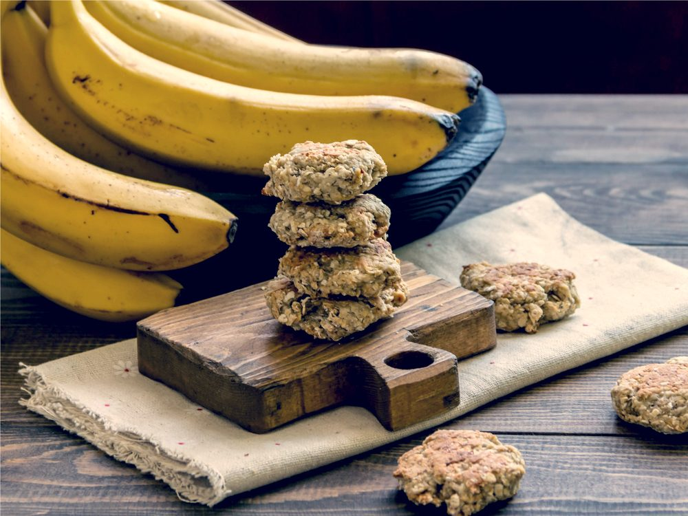 Oatmeal cookies are a no-guilt healthy snack
