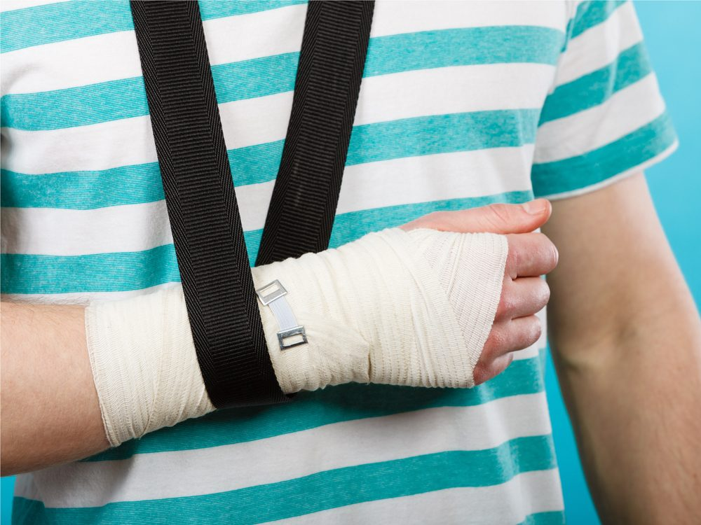 Suffering from stress fractures often could be a sign of a vitamin D deficiency