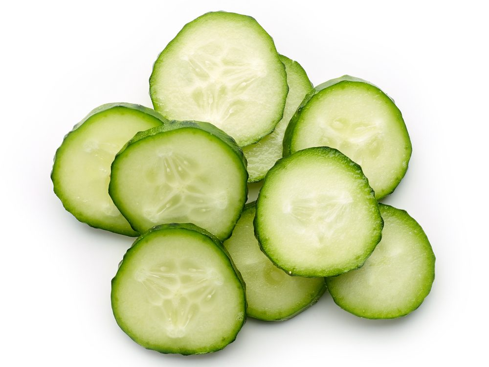 Cucumber is a poison ivy home remedy you'll be grateful to know.
