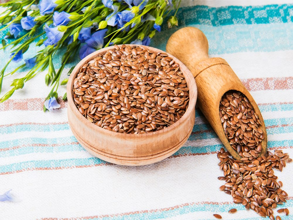 Flax seeds can help with eczema and psoriasis