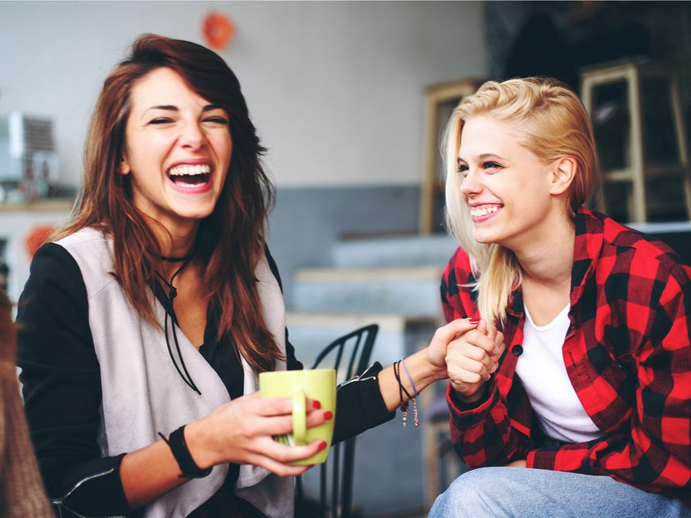 Seeking out daily laughter is a natural way to increase endorphins