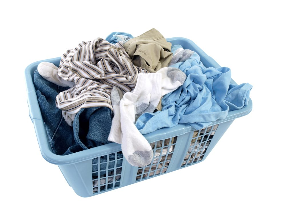 Changing your clothes can provide relief from allergy symptoms