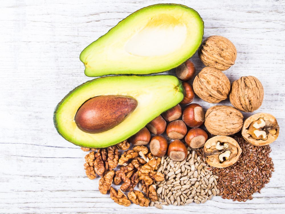 Healthy fat is a surprising home remedy for constipation.
