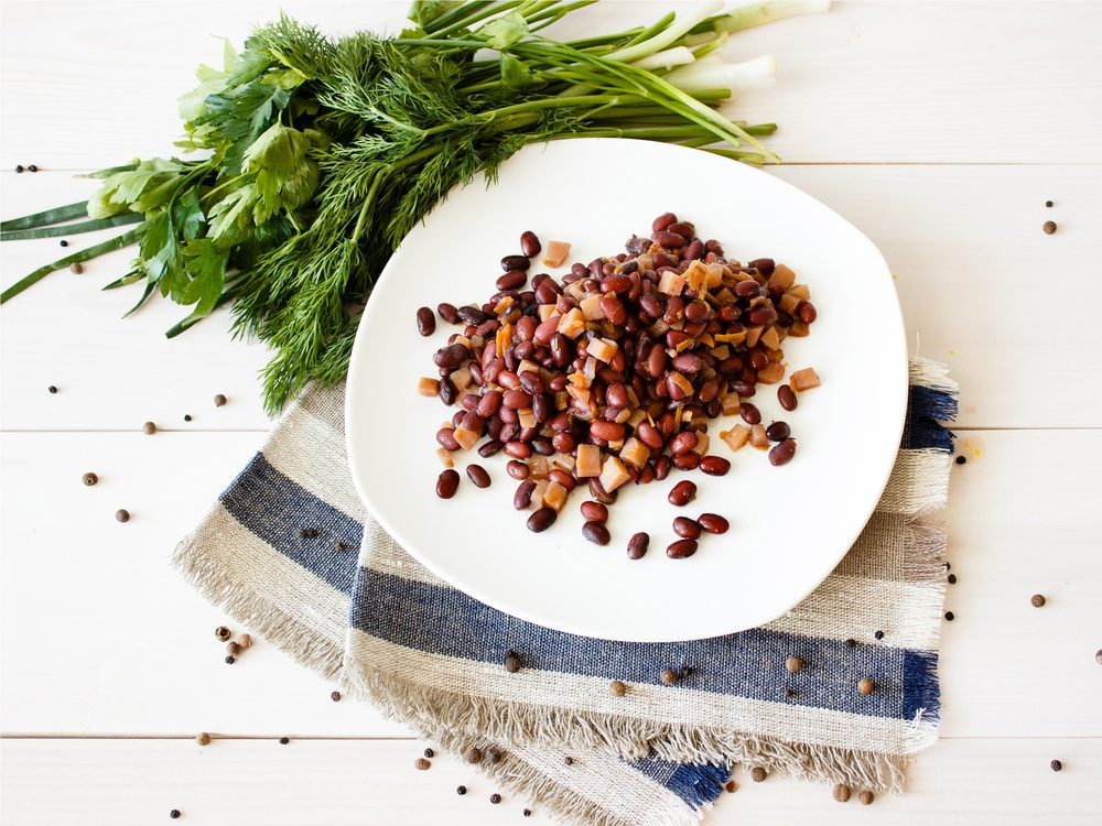 Bean have the health benefit of helping manage diabetes
