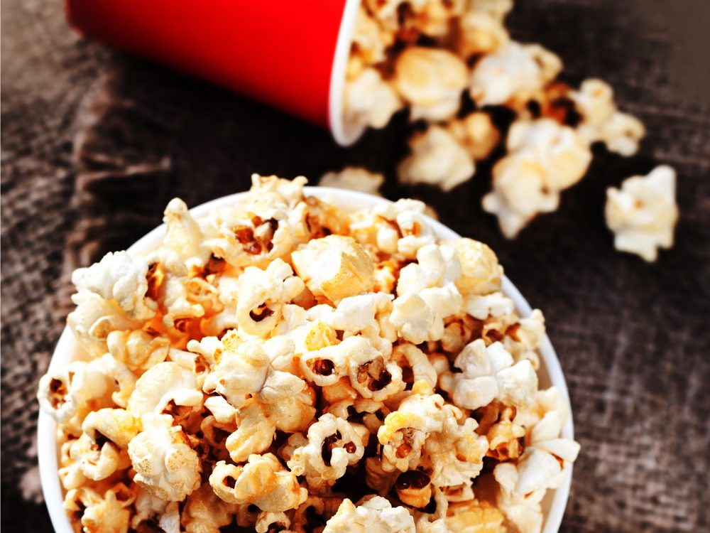 Kettle corn is a no-guilt healthy snack