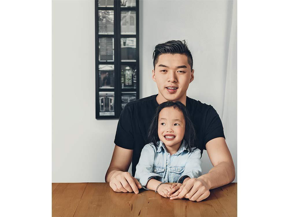 Kris Chung and Binh Wagner