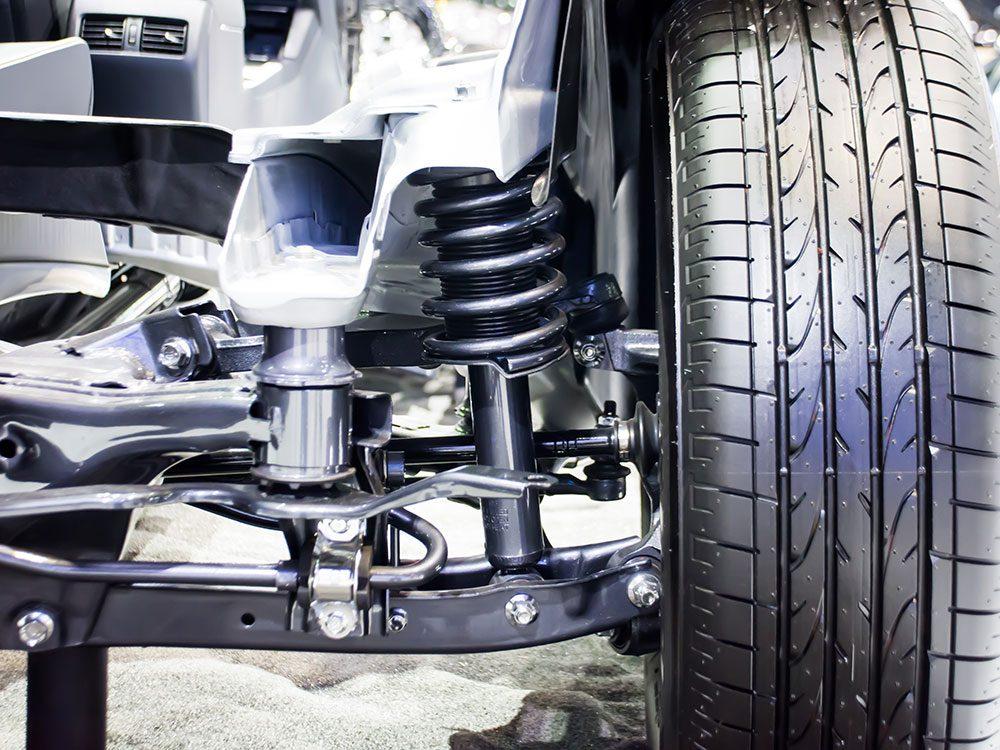 Car's suspension system