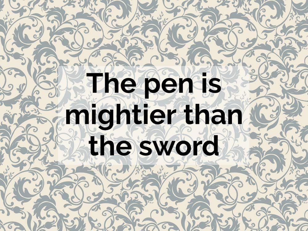 British proverb