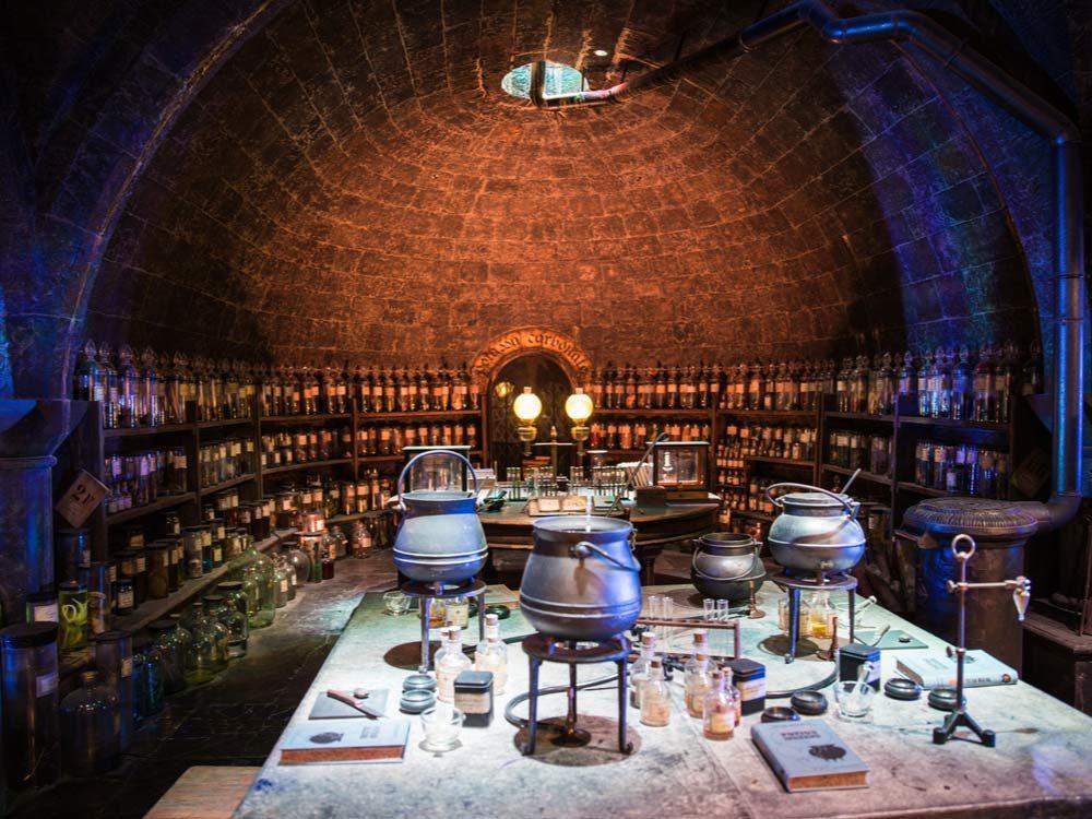 Harry Potter potion room