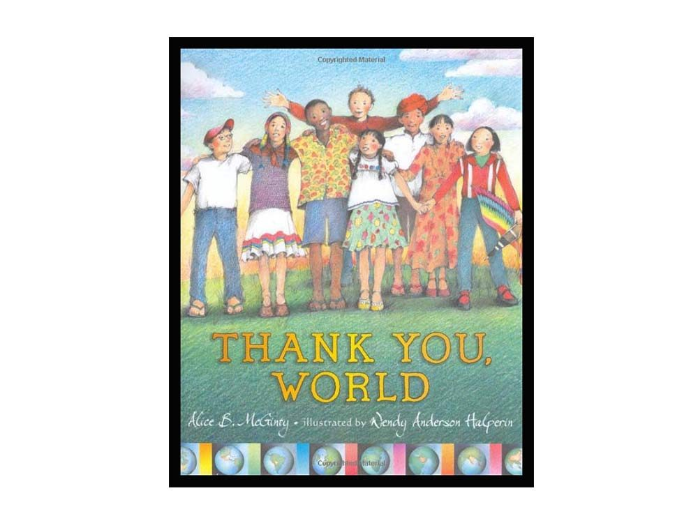 Thank You, World book cover