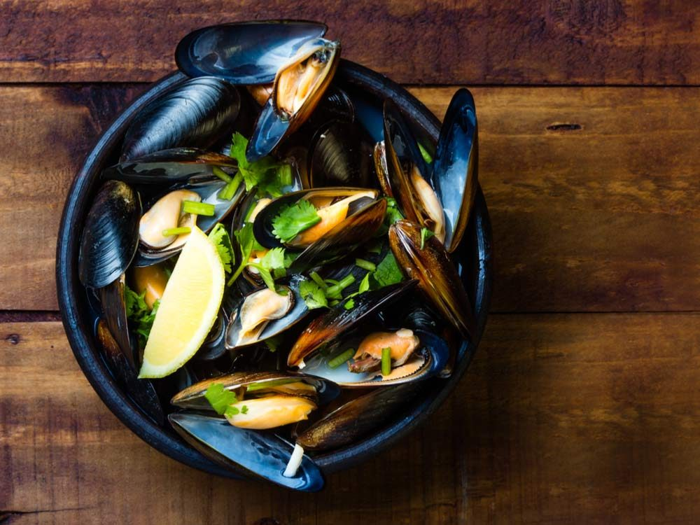 Mussels broth
