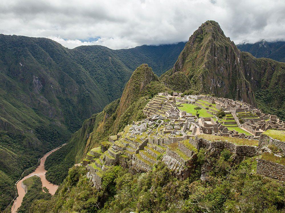 Machu Picchu Urubamba River