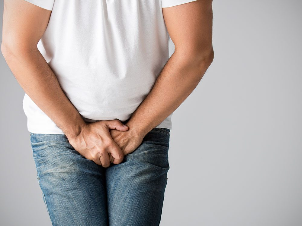 Men can also get urinary tract infections