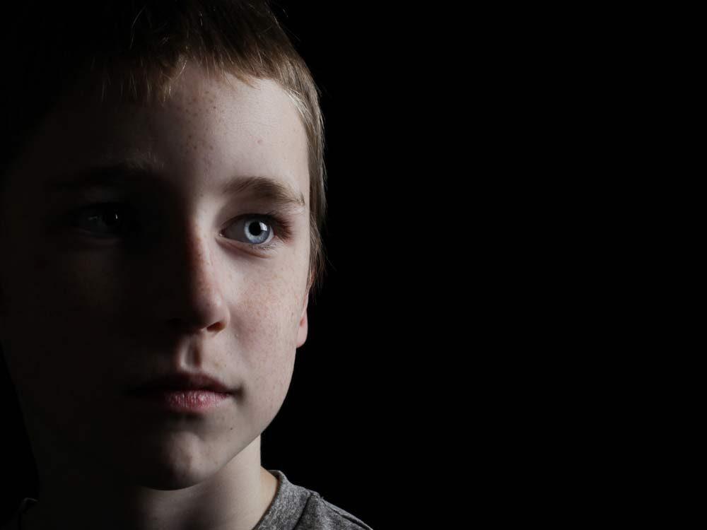 Caucasian boy