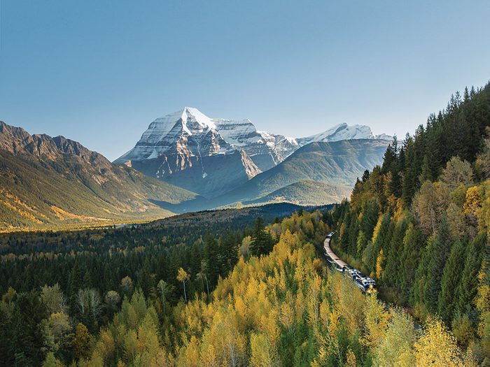 Rocky Mountaineer Canadian rockies