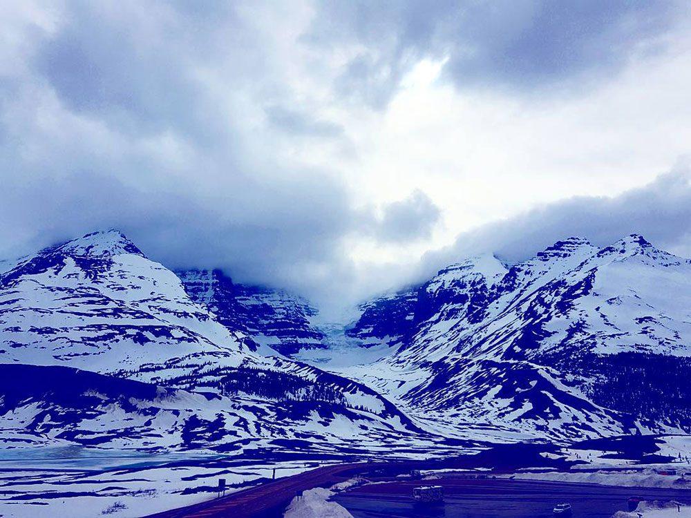 Athabasca Glacier Snow Dome