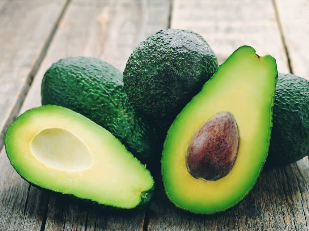 Avocado is a healthy green food that helps you lose weight