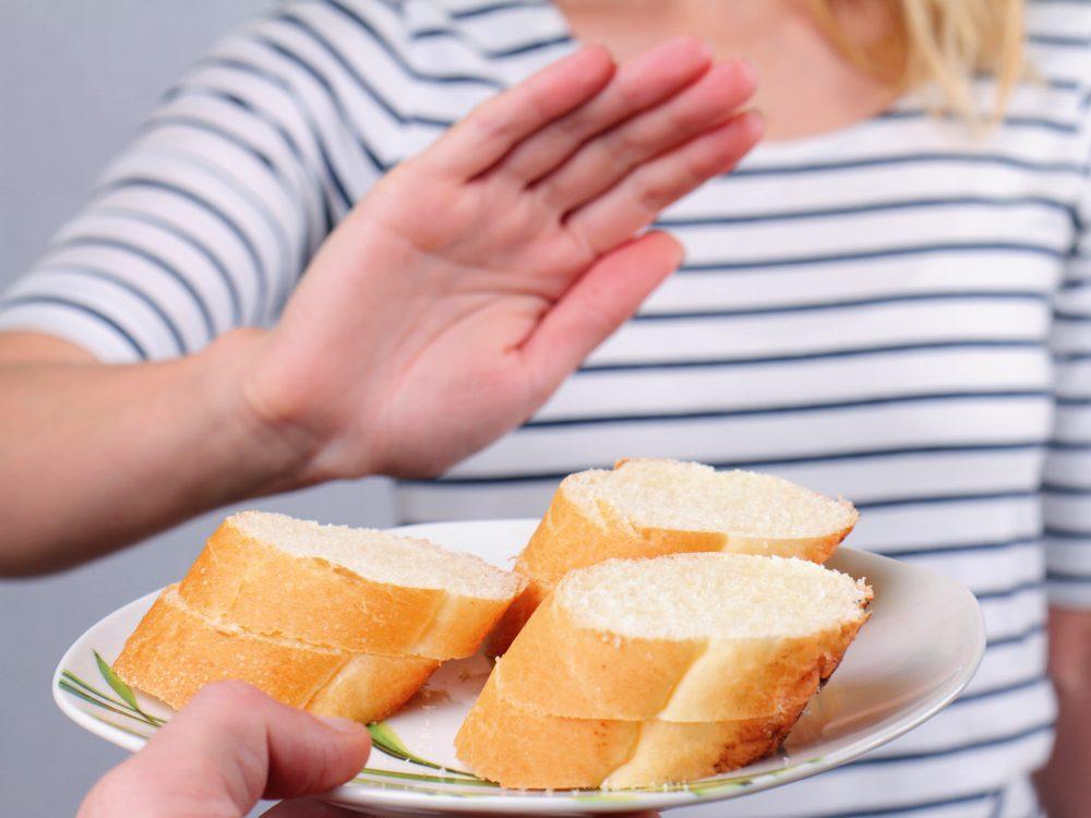 Gluten sensitivity can make you fart