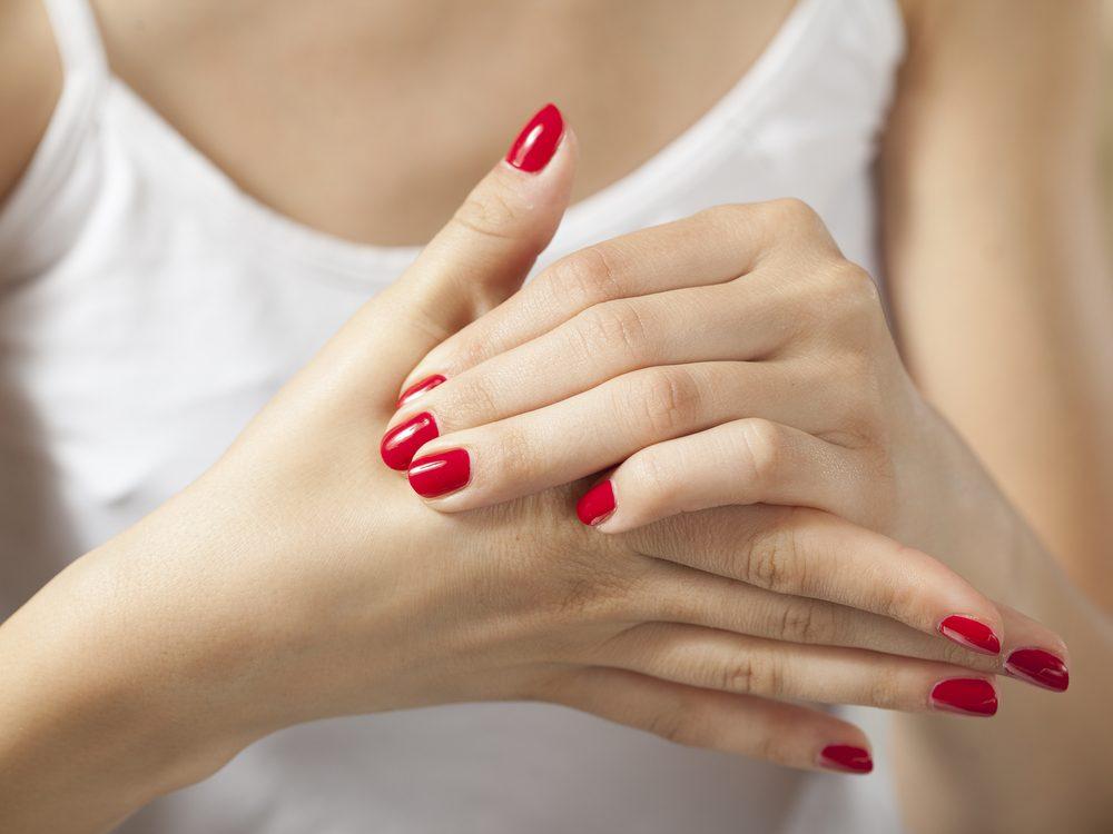 Make time for a mini self-massage