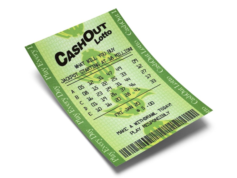 Never post a photo of a winning lottery ticket on social media