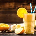 Orange and Banana Breakfast Smoothie